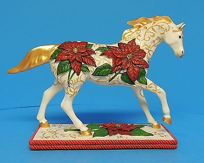 The Trail of Painted Ponies 12257 Poinsettia Pony Maria Ryan 2007 Westland Gift