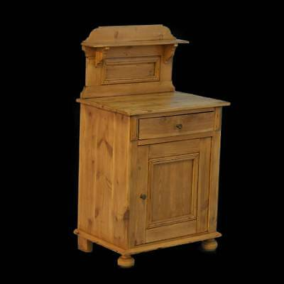 Antique Pine Night Stand, Denmark circa 1890