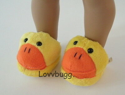 "Duck Slippers for 18"" American Girl Doll Shoes Clothes   Most Variety Lovvbugg!"