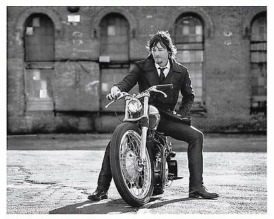 """* NORMAN REEDUS *  from """"The Walking Dead"""" (8x10) Glossy Print"""