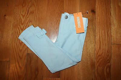 NWT Gymboree Pocketful of Sunshine 5T Light Blue Jeggings Leggings Pants