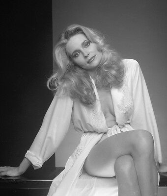 Superb High Resolution PRISCILLA BARNES Embossed Photo By Harry Langdon HL968