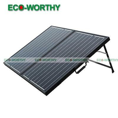 Solarkoffer Off Grid 100W 12V Portable Folding Solarpanel for Charging Camp RV