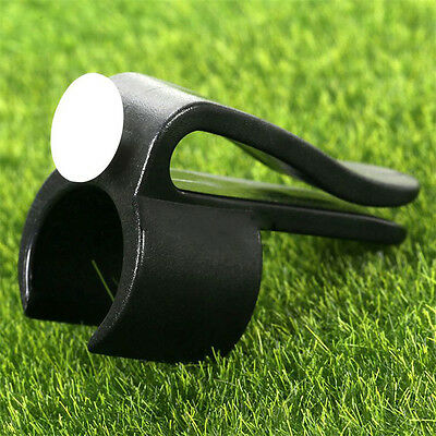 Golf Bag Clip On Putter Clamp Holder Putting Organizer Club Golf Ball Marker