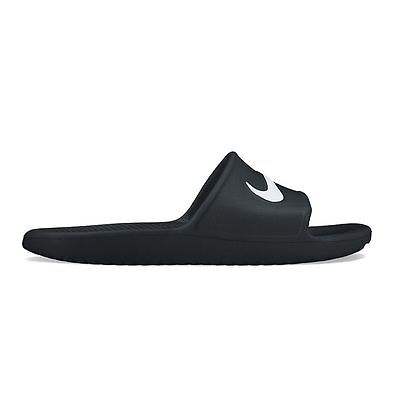 New Nike Kawa Shower Men's Slide Sandals Black size 7 8 9 10 11