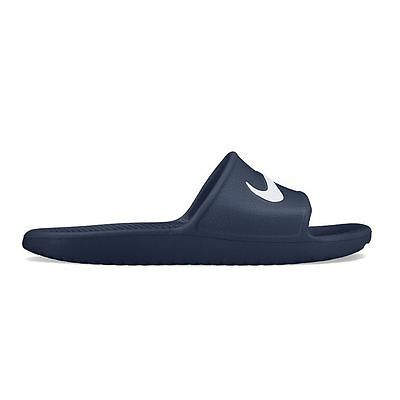 New Nike Kawa Shower Men's Slide Sandals Navy size 7 8 9 10 11