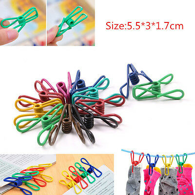 Wholesale Multifunction Mini Colourful Snacks Clip Photo Book ClipClothes Clip