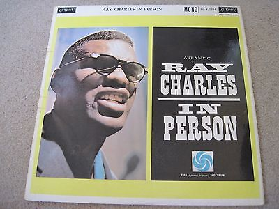 RAY CHARLES Ray Charles In Person 1960 LONDON  superb EX