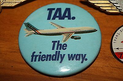 T.a.a.   Trans Australian  Airlines  Badges / Cuff Links