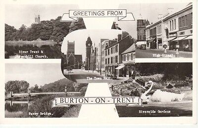 RP Early GREETINGS FROM BURTON-ON-TRENT - Multiview including High Street