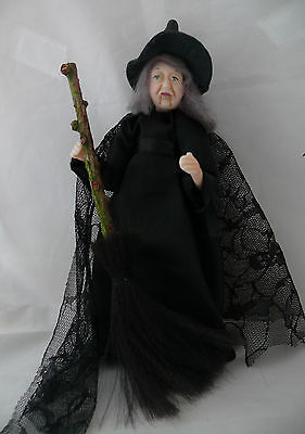 Dolls House Miniature Witch 1-12TH Scale
