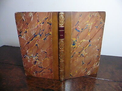 The New Guide To Harrogate Yorkshire 1837 Lovely Copy In Gilt Leather Complete