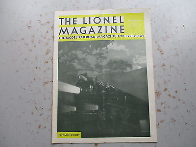 The LIONEL Magazine - September/October, 1933  Issue