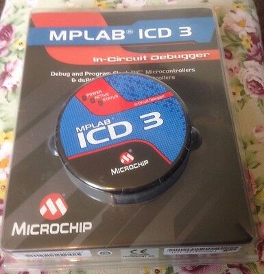 MICROCHIP MPLAB ICD 3 dsPIC dsPIC For PIC, Real-Time Debugging,  Probe interface