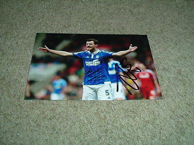 Tommy Smith - Ipswich Town - Signed 6 X 4 Photograph