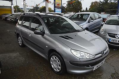 Peugeot 206 SW 1.4HDi 70 ( a/c ) 2004MY S