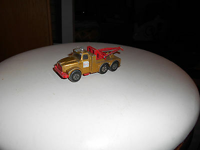 Matchbox Superkings vintage ESSO Scammel Heavy Wreck Truck Top