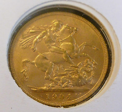 Edward VII Gold Sovereign Commemorative Cover 1902 - 2002