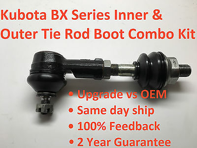 Kubota BX inner and outer tie rod boots - All BX series BX1500 to BX25