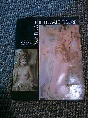 Old vintage 1967 book painting the female figure,  Wallace Bassford, art paint
