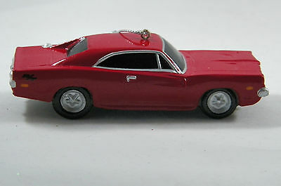Red Dodge Car Blow Mold Christmas Tree Ornament new holiday