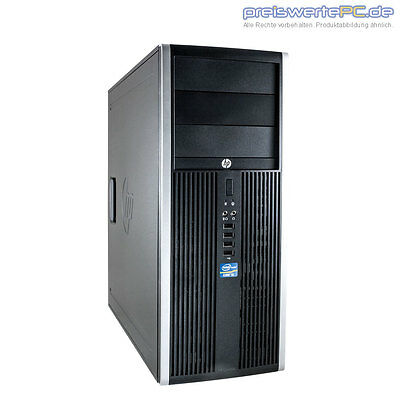 Computer Tower PC HP Elite 8100 Core i5 3,46GHz 4GB RAM 320GB HDD + Windows 10