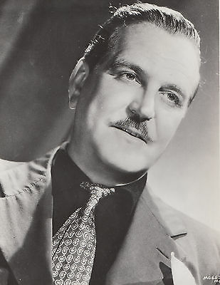 "Frank Morgan Large 10"" x 8"" Vintage Photo"