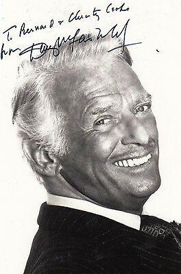 Douglas Fairbanks Jr Vintage Hand Signed Photo
