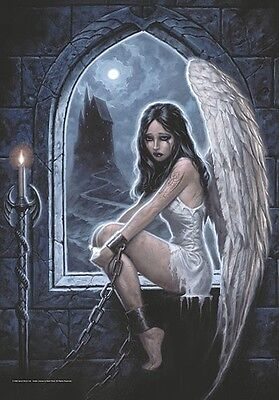 Gothic Captive Angel large fabric poster / flag 1100mm x 750mm (hr)
