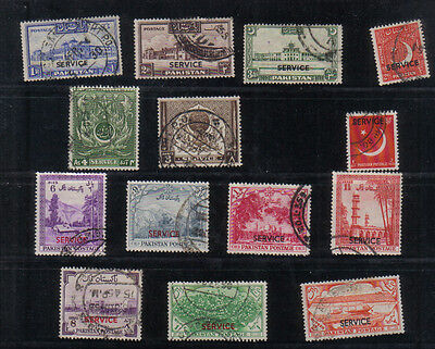 Pakistan Small collection of early Officials