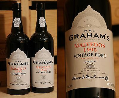 1995er Vintage Port - Graham's Malvedos - Top *****