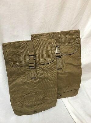 x2 New Eagle Industries USMC ILBE FILBE Hydration Pouch Coyote FSBE DEVGRU