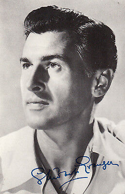 Stewart Granger Vintage Signed Photo