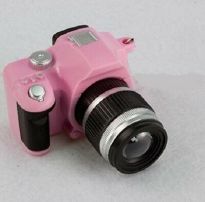 """Pink Mini Camera w Light n Sound for 18"""" American Girl Doll Accessory So Cool"""