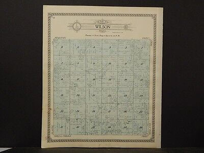 Nebraska, Colfax County Map, Wilson Precinct (Township) 1917  K6#73