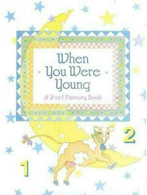 When You Were Young: A 2-In-1 Memory Scrapbook by Emily Boland (English) Spiral