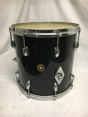 "Vintage Gretsch Black Floor Tom 14"" X 14"""
