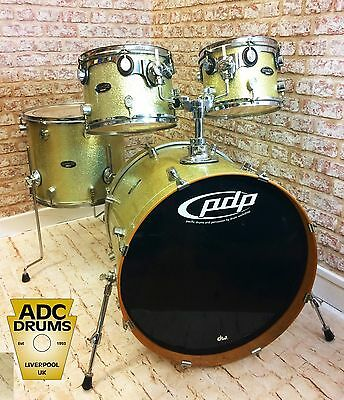 Used Pacific by DW CX Fusion Series Drum Kit - 22/10/12/16 - Ginger Ale Sparkle