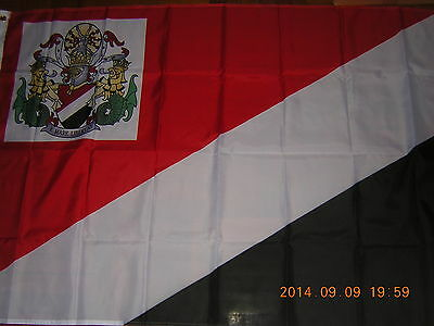 NEW Reproduced Flag of Royal Standard of the Prince of Sealand Ensign, 3ftX5ft