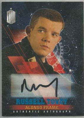 Doctor Who TIMELESS autograph Blue foil insert card RUSSELLTOVEY #22/50