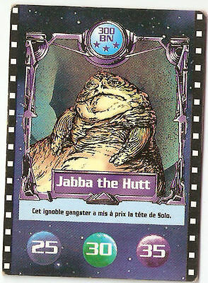FRANCE Star Wars Biscuiterie Nataise (BN) JABBA THE HUTT trading card (1996)