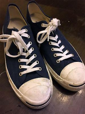 Converse Jack Purcell Blue All-Stars Men's Canvas Shoes Size 13M EU 47.5