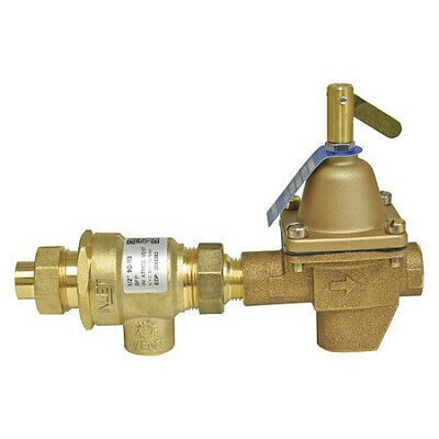 WATTS 911S-M3 Comb Fill Valve/Backflow Preventor, 1/2In
