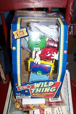 Collectible M & M Wild Thing Roller Coaster Dispenser