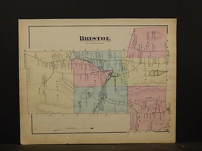 Vermont, Addison County Map, 1871, Bristol Township, Y4#84