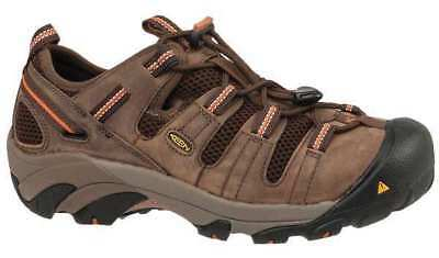 Size 15 Work Boots, Men's, Brown, Steel Toe, D, Keen Utility
