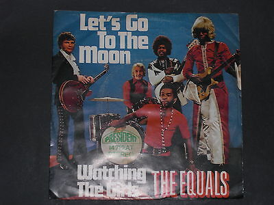 7-Single-Beat-THE EQUALS-Let's go to the Moon
