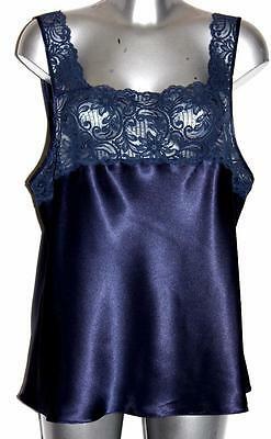 Vintage Style Larger Figure Camisole / Stunning Lace Size 22 Made In Australia
