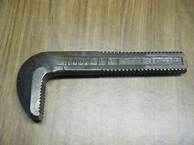 """Ridgid 24"""" pipe wrench replacement jaw"""