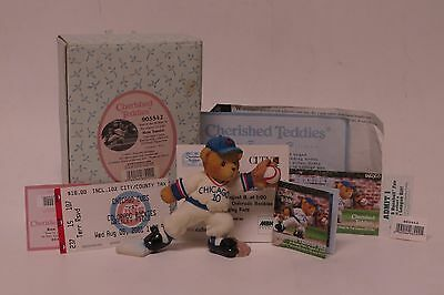 Cherished Teddies RON SANTO Chicago Cubs Exclusive Limited Edition #905542
